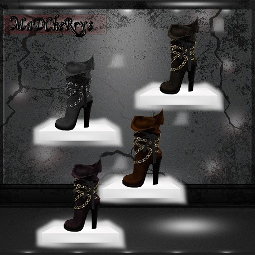 MaD files leather boots 18colors