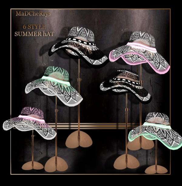 MAD  SUMMER HAT