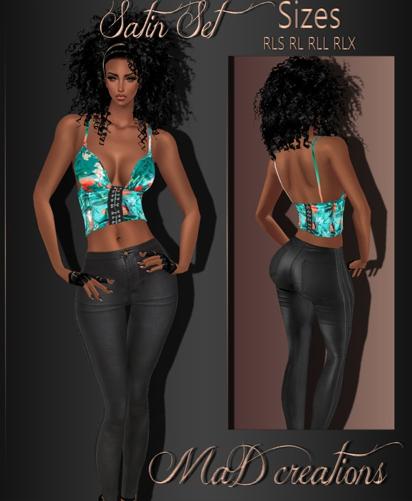 MaD Satin Set ONLY CATTY