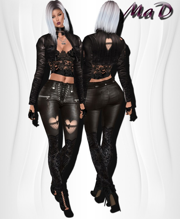 MaD Eros Leather bundle CATTY ONLY