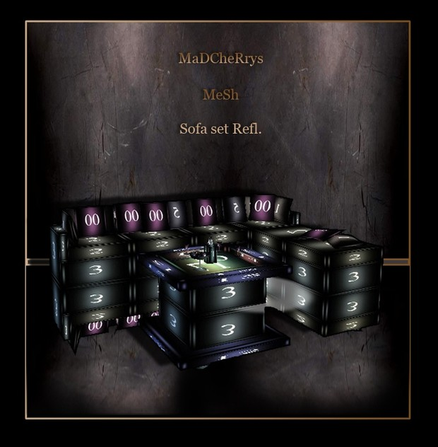 MaD Mesh sofa set with resell rights 2 deferent files