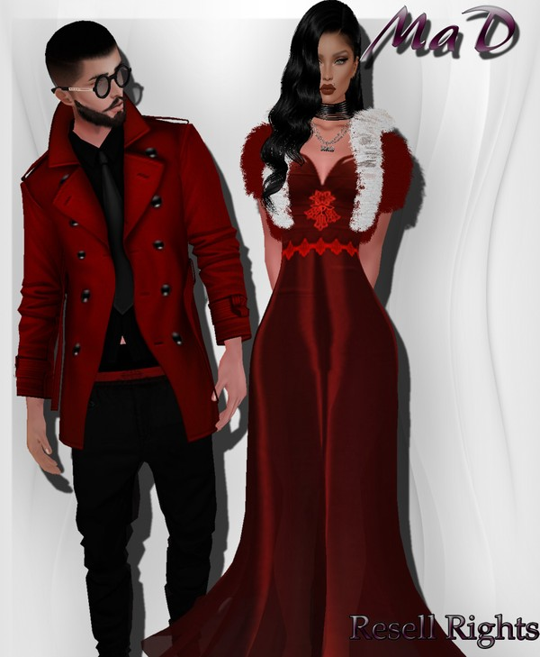 MaD Xmas Set Male-Female WITH RESELL RIGHTS