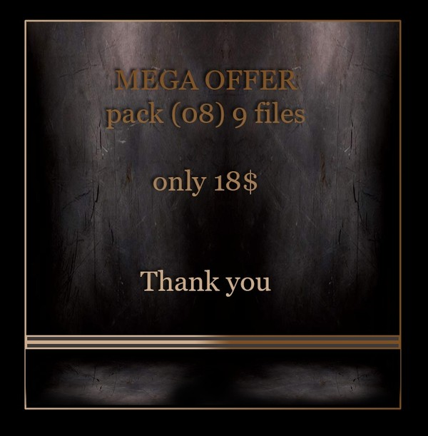 MEGA OFFER 9 files  only 18$