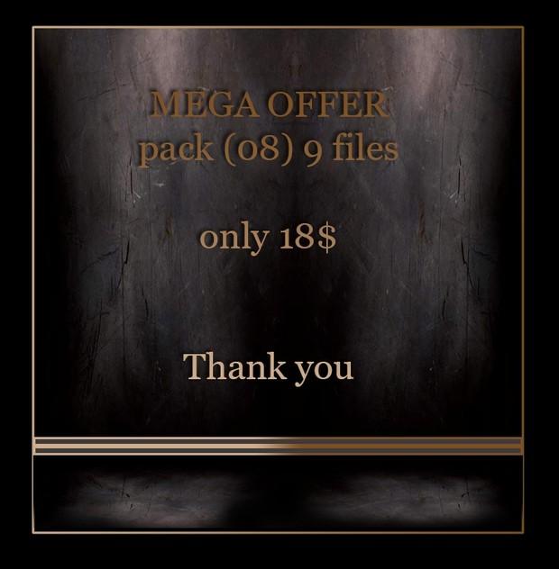 MEGA OFFER 9 files  only 18$