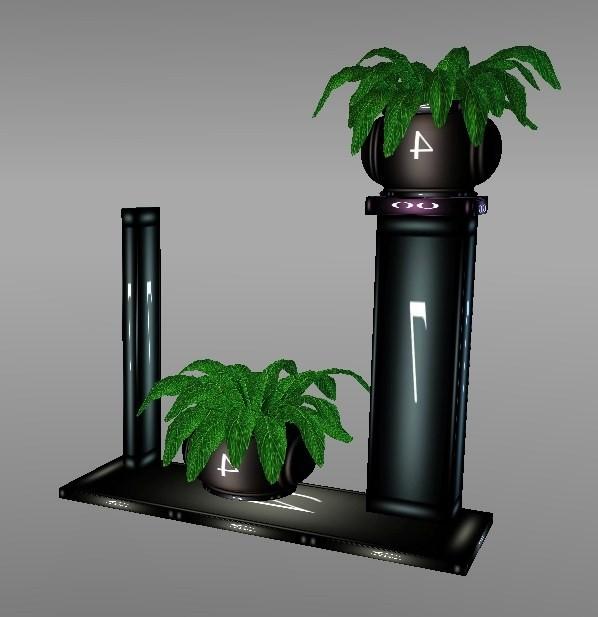 Mad Mesh  Decor plant