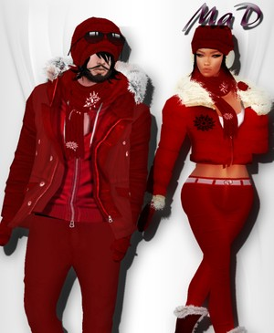 MaD Winter Set male-female ONLY CATTY
