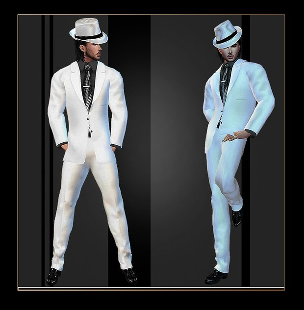 Mad Files wedd suit white v2