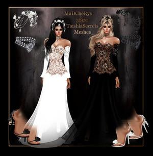 MaD  Wedding 01 black-white Bundle