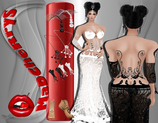 MaD Wedding Bundle A02  White & Black