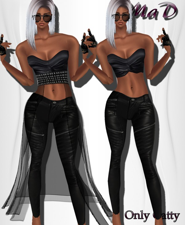 MaD Leather Rock ONLY CATTY 2 STYLES