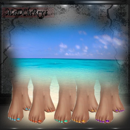 MAD FILES Bare Feet 11colors