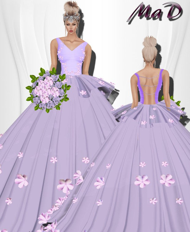 MaD Flower Purple Set WITH RESELL RIGHTS