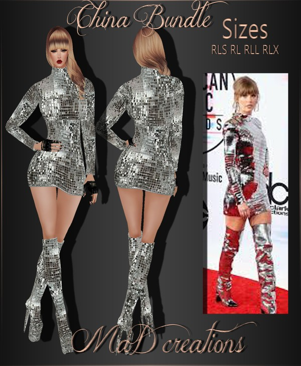 MaD Taylor Set WITH RESELL RIGHTS
