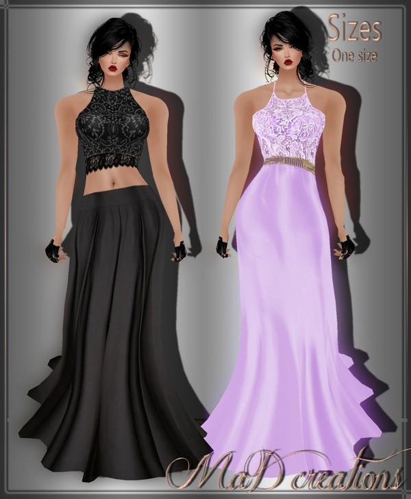 MaD 1+1 GIFT PROM dress ONLY CATTY