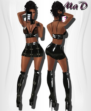 MaD PVC Set WITH RESELL RIGHTS