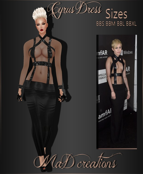 MaD Cyrus Dress ONLY CATTY