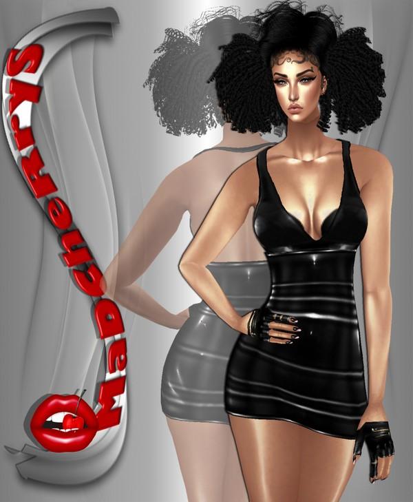 MeGa OffeR  pvc muse dress