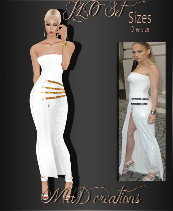 MaD JLO Set ONLY CATTY