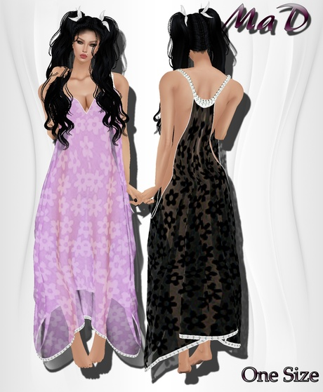 MaD Flower Drape 4 colors ONLY CATTY