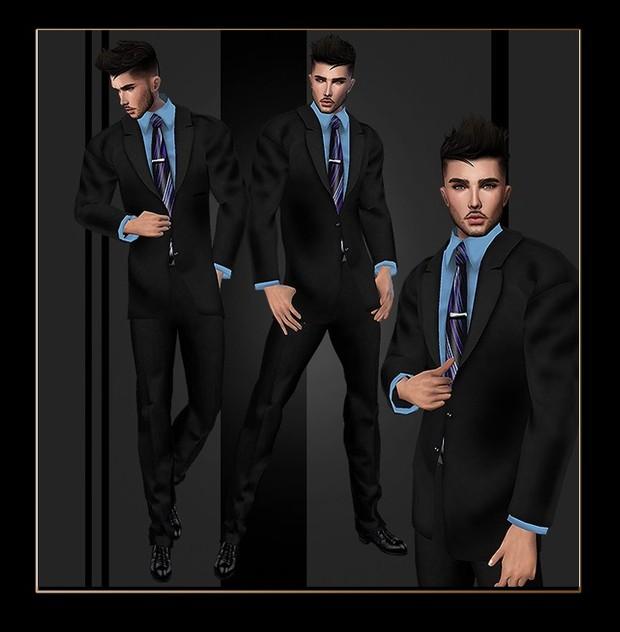 MaD Files Grey v2 wedding suit