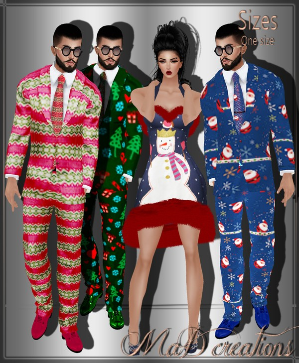 MaD Xmas Couples Sets ONLY CATTY