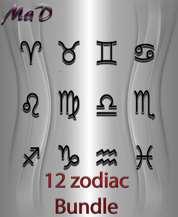 MaD 12 ZODIAC BUNDLE WITH RESSEL RIGHTS