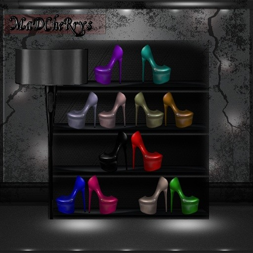 MaD Files shiny plats 14colors