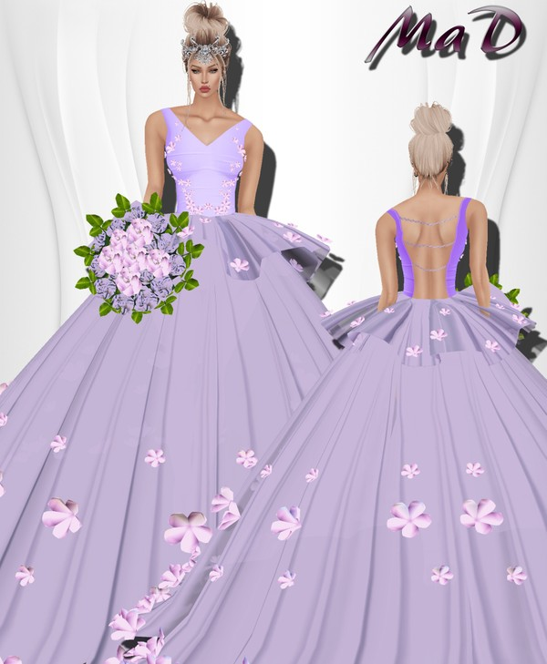 MaD Flower Purple Set ONLY CATTY