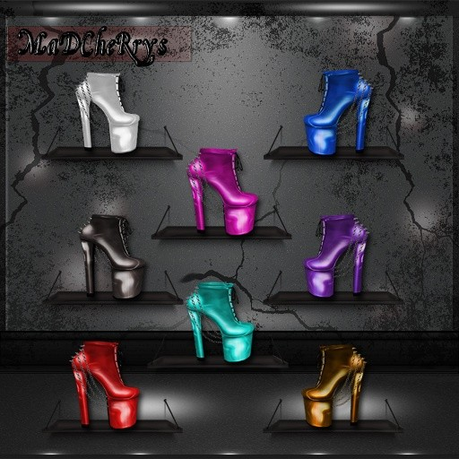 MaD Files booties  24colors