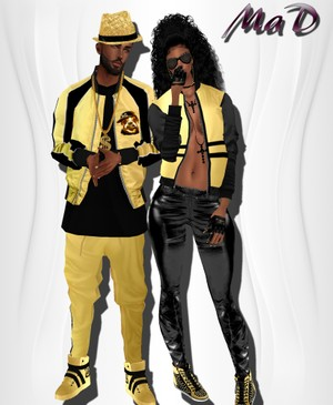 MaD Set v2  Male -Female ONLY CATTY  (rapper)