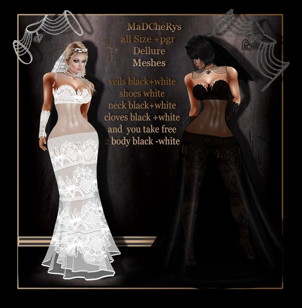 MaD wedd 02 black-white bundle