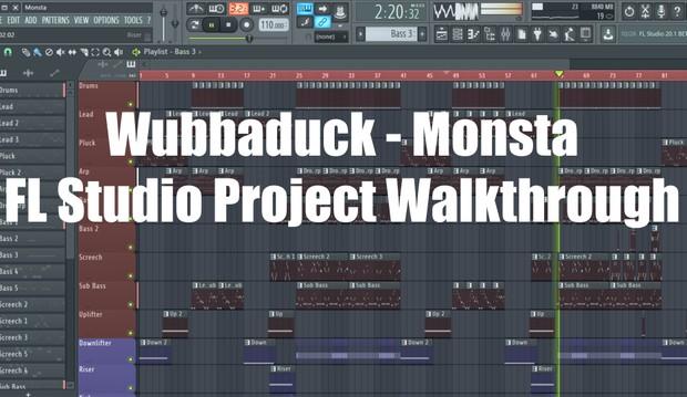 Wubbaduck - Monsta [FL Studio 12 Project File] + Extra Presets