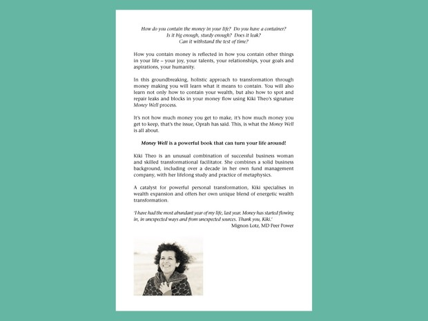 Money Well™  e-Book      (ISBN: 978-0-9946591-1-8)