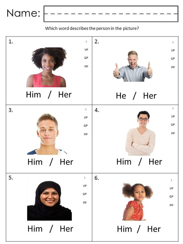 Labeling Pronouns