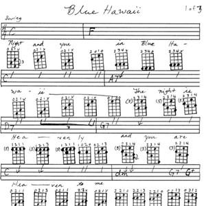 Blue Hawaii Tablature