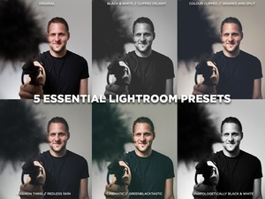 5 Essential Lightroom Presets by DOD Media