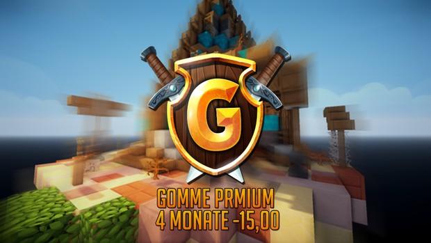 Gomme Premium- 4 Monat
