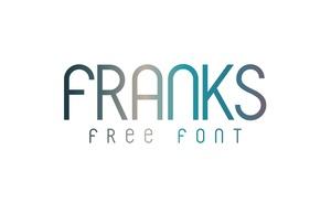 Free Font: Franks