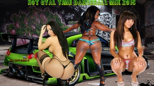HOT GYAL TIME DANCEHALL MIX