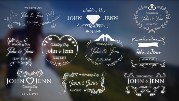 Wedding Titles Pack (1.0)   vikiyo