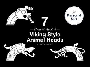Animal Heads – Personal use