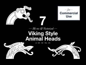 Animal Heads – Commercial use