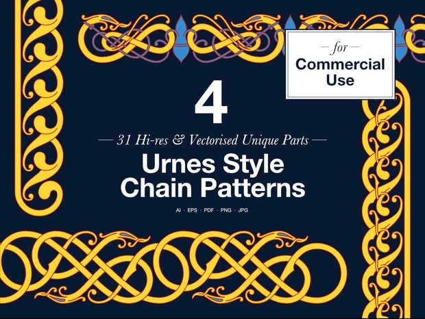 Urnes Chains – Commercial Use