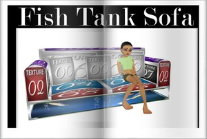 Fish  Tank Sofa