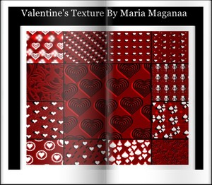 Valentine's Texture by Maria  Maganaa