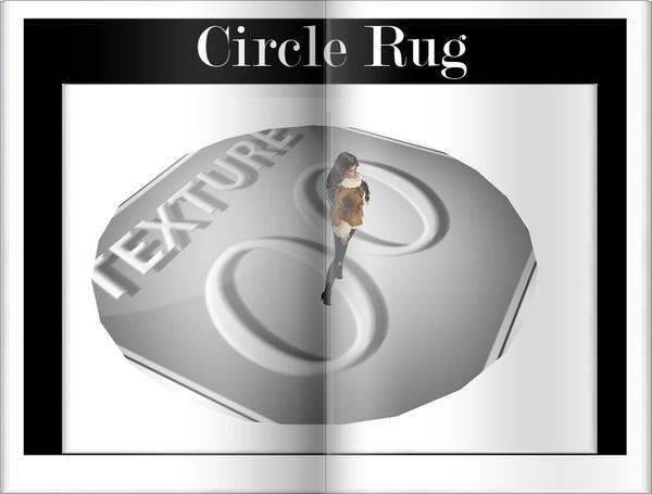 Circle Rug for Imvu