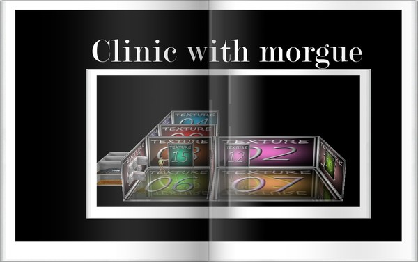A Clinic with morgue