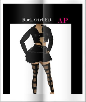 Rock Girl Fit Ap