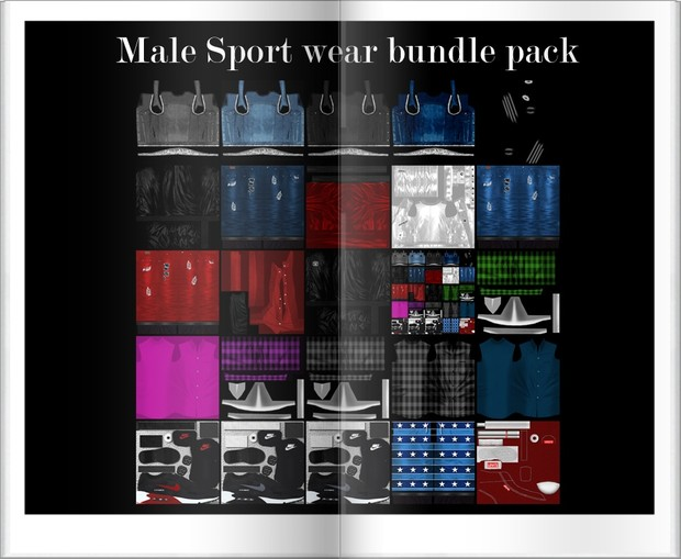 Male Sport Waer Bundle Pack