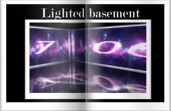 Lighted Basement Room